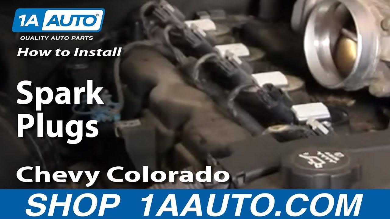 How to Replace Spark Plug 04-16 Chevy Colorado