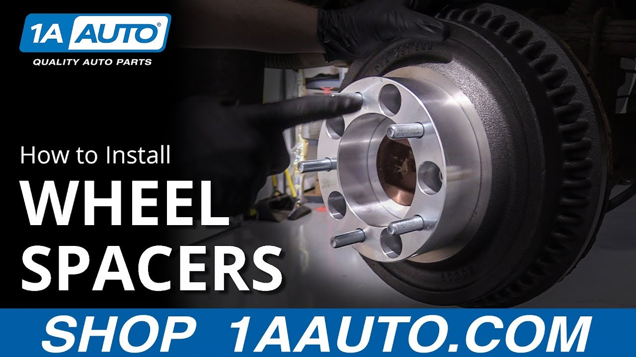 How to Properly Install Wheel Spacers on your Vehicle!