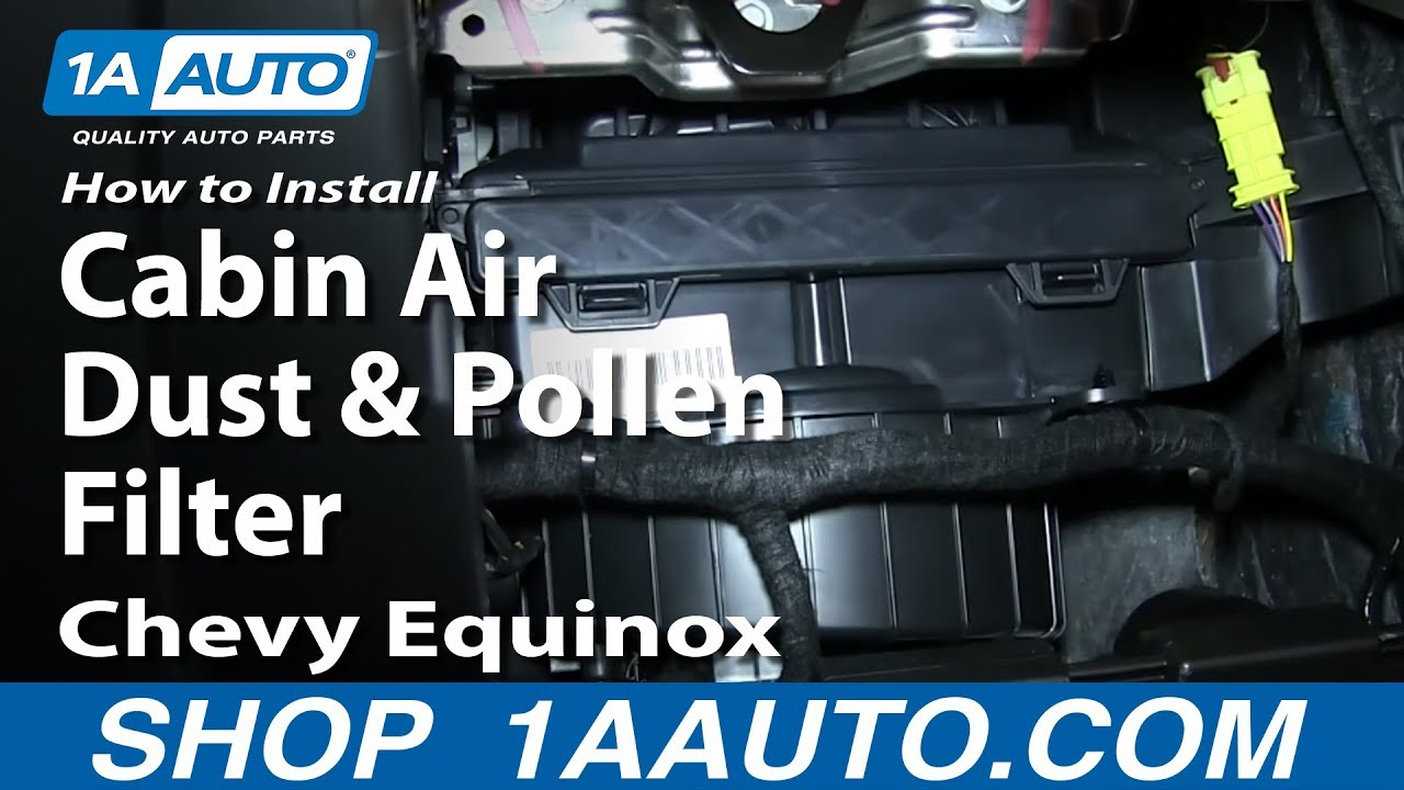 1999 chevy c1500 fuse diagram how to replace cabin air filter 05 09    chevy    equinox 1a auto  how to replace cabin air filter 05 09    chevy    equinox 1a auto