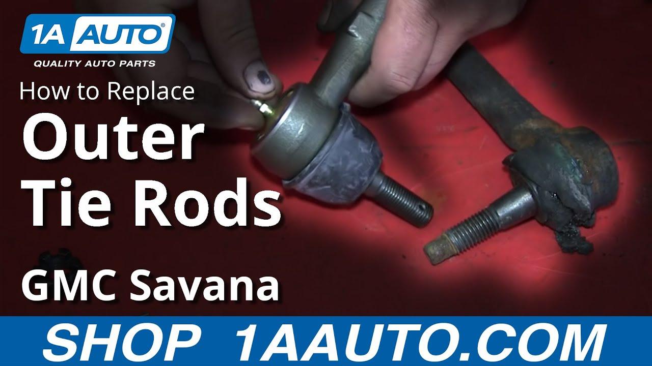 How To Replace Tie Rod 03-13 GMC Savana