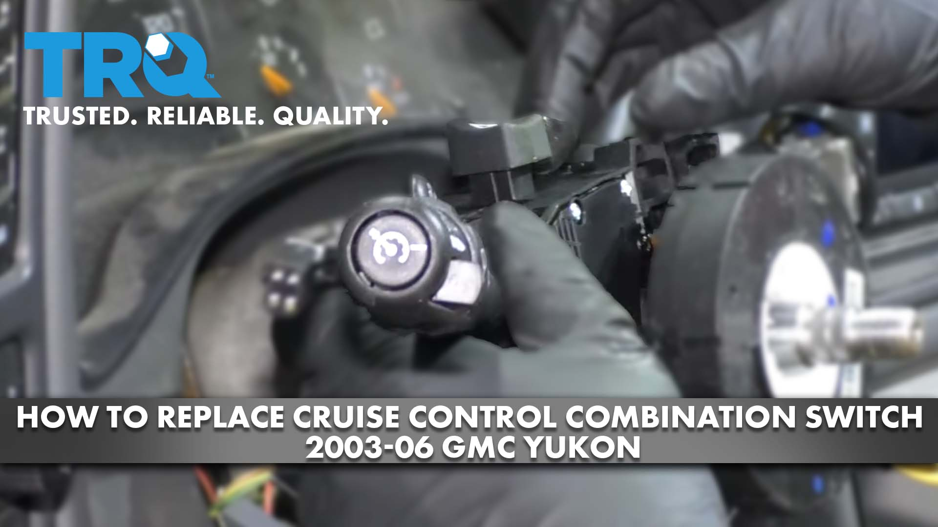How to Replace Cruise Control Combination Switch 2003-06 GMC Yukon