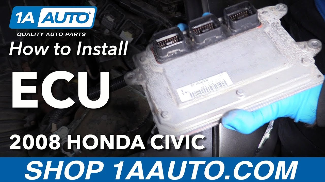 How to Replace Engine Computer 05-11 Honda Civic