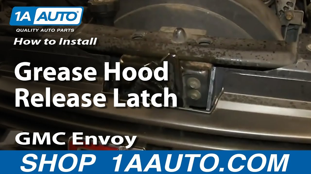 How To Replace Hood Release Latch 02-09 GMC Envoy