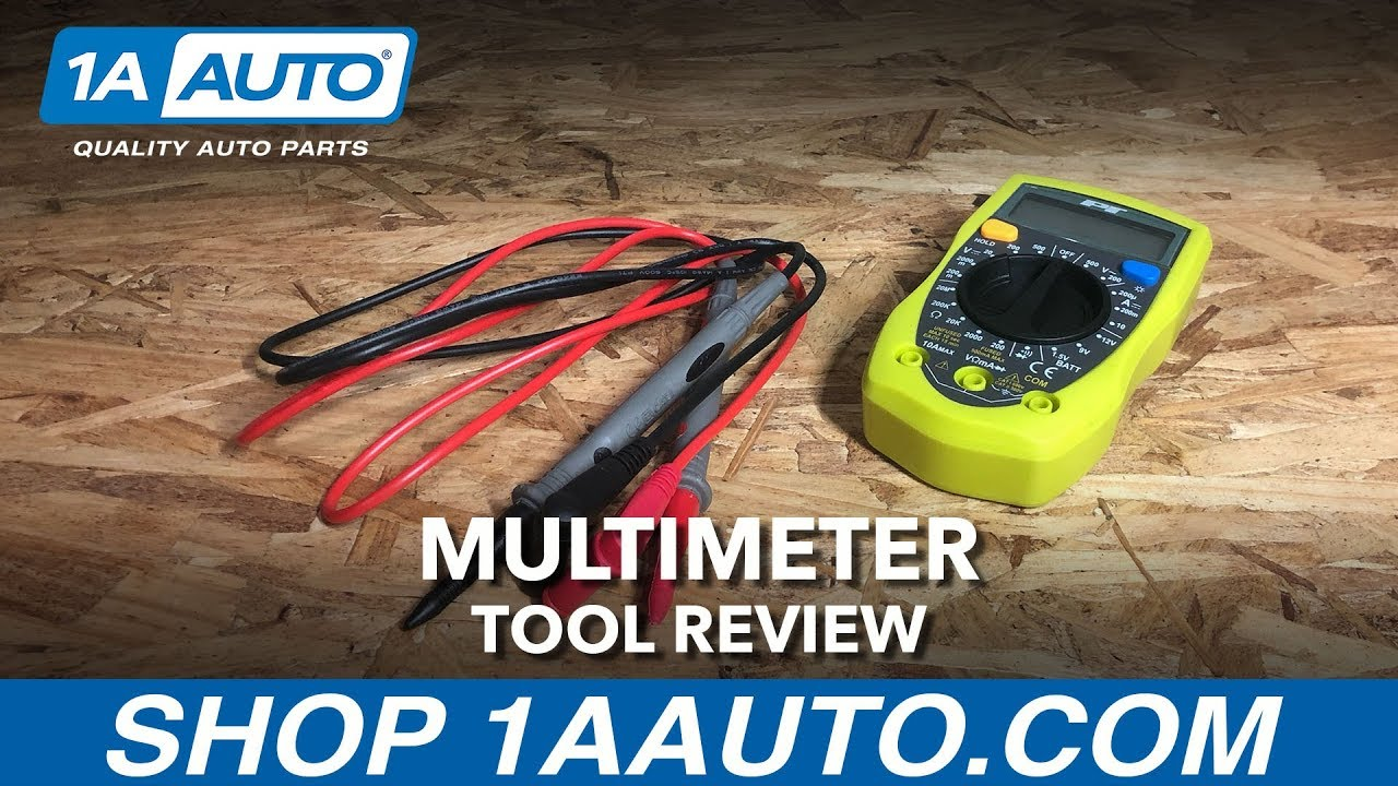 Multimeter - Available on 1aauto.com