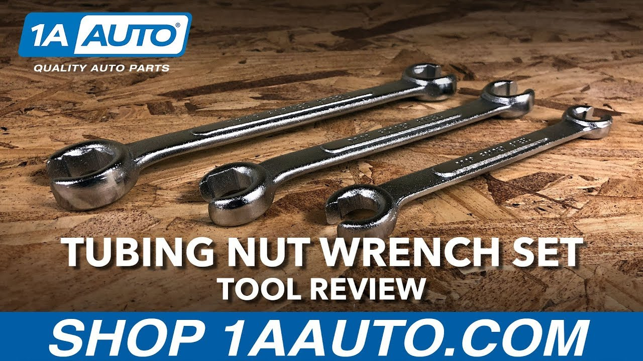 Tubing Nut Wrench Set - Available on 1aauto.com