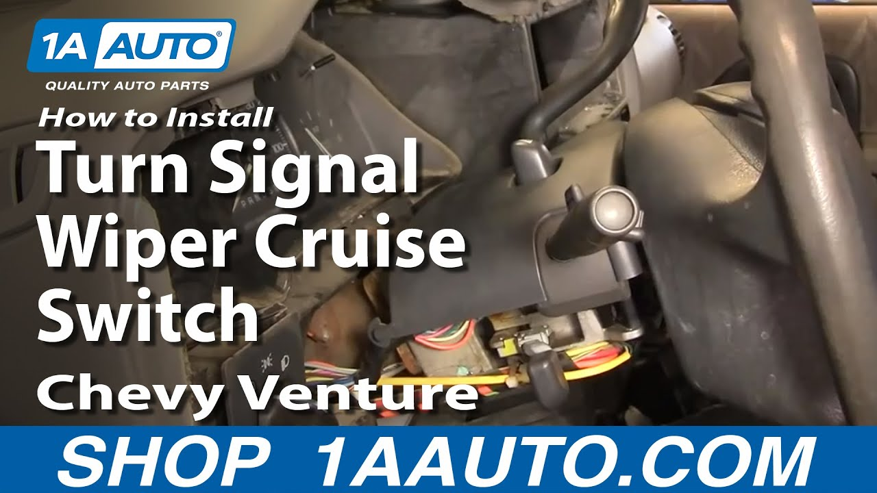 How to Replace Combination Switch 97-05 Chevy Venture [Part 2]