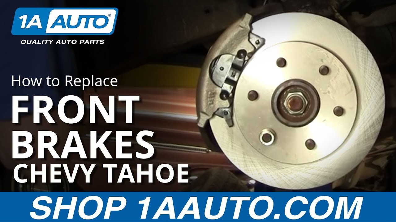 How To Replace Front Brakes 95 00 Chevy Tahoe 1a Auto
