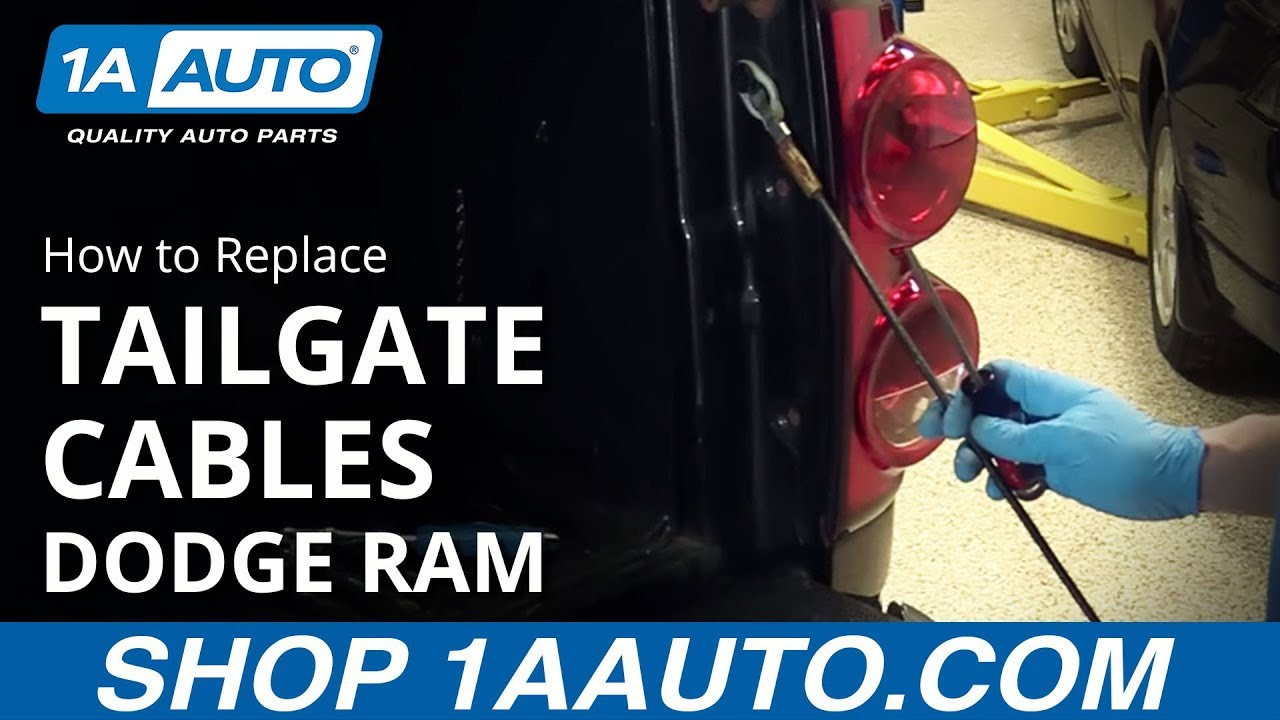 How to Replace Tailgate Cable 02-08 Dodge Ram 1500