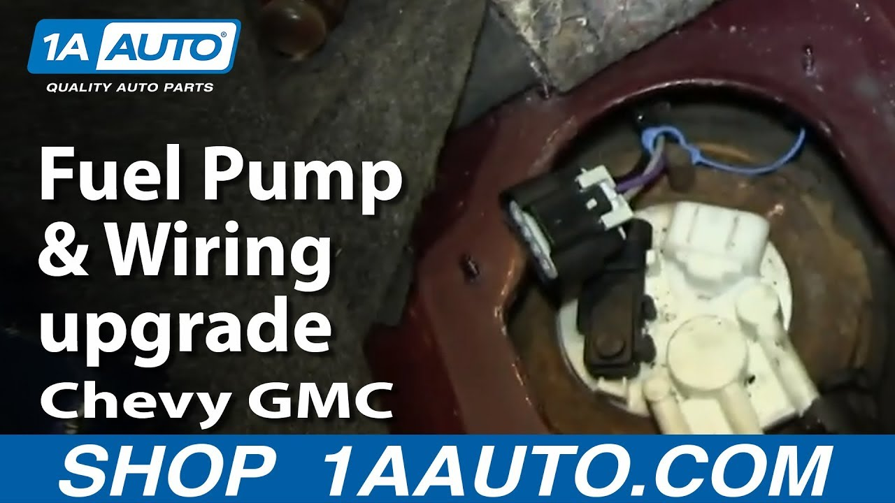 Chevy GMC Buick Pontiac Fuel Pump and Wiring upgrade | 1A Auto