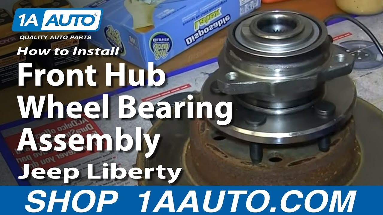 How to Replace Front Hub Assembly 02-07 Jeep Liberty