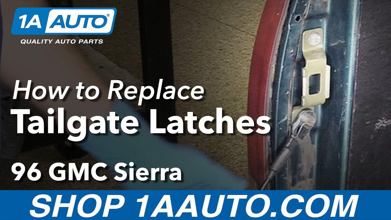 How to Replace Tailgate Latches 88-95 GMC Sierra K1500 Truck