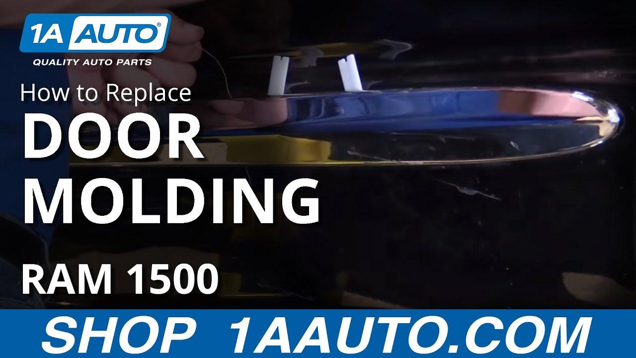 How to Replace Door Molding 02-08 Dodge Ram 1500