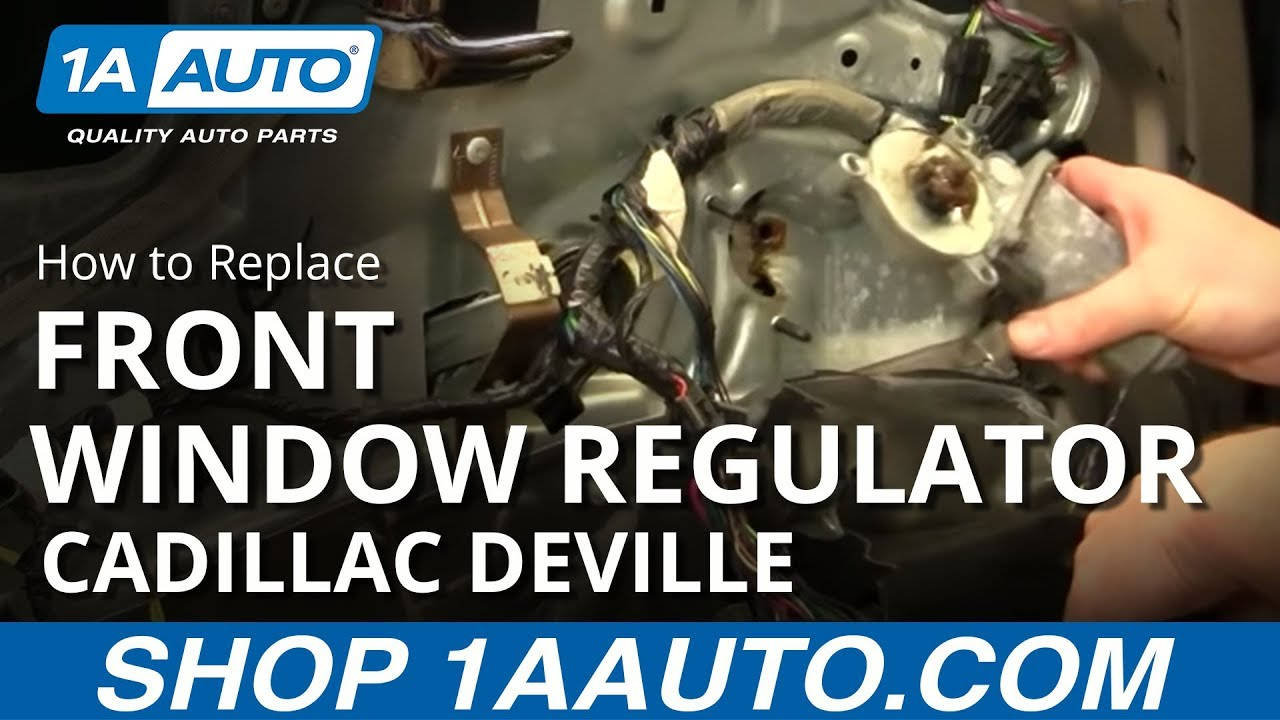 How to Replace Front Power Window Motor 94-99 Cadillac Deville | 1A Wiring Diagram For Cadillac Deville on 1991 cadillac deville engine, 1991 cadillac sedan deville parts, 1991 toyota mr2 wiring-diagram, 1991 cadillac deville no speedometer, 1991 plymouth voyager wiring-diagram, 1991 ford festiva wiring-diagram,