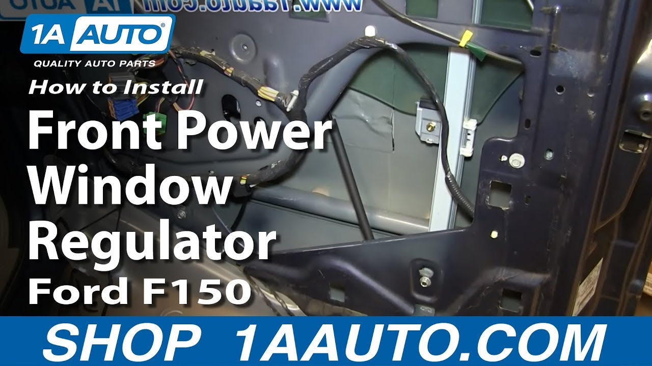 How To Replace Front Power Window Regulator 04-08 Ford ...