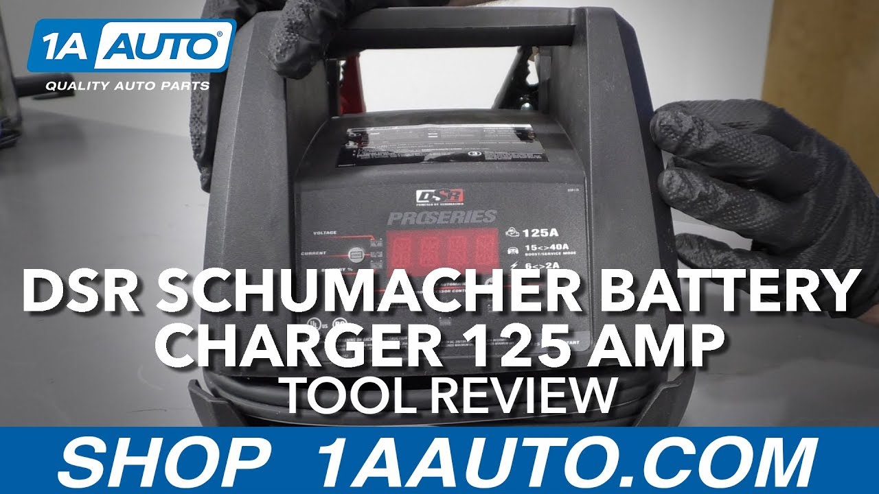 DSR Schumacher Battery Charger 125 Amp - Available at 1AAuto.com