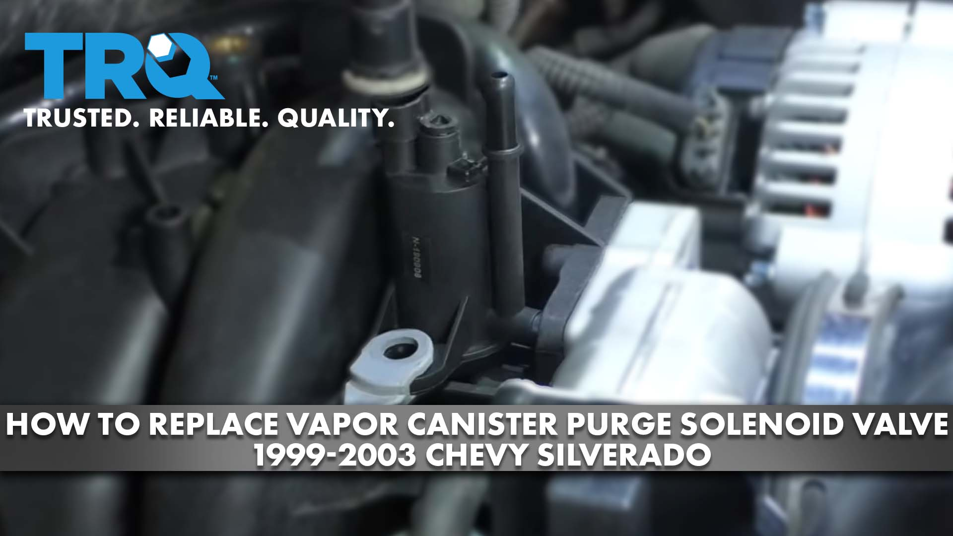 How to Replace Vapor Canister Purge Solenoid Valve 1999-03 Chevy Silverado
