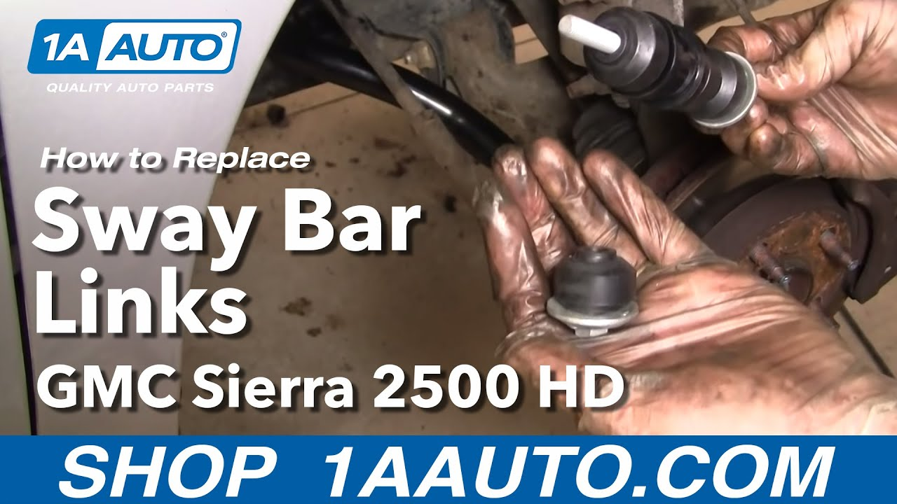 How To Replace Sway Bar 97 05 Chevy Venture 1a Auto
