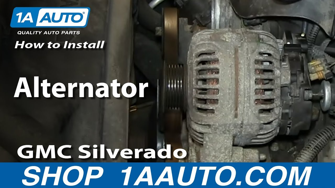 how to replace alternator 00 02 chevy suburban 1a auto. Black Bedroom Furniture Sets. Home Design Ideas