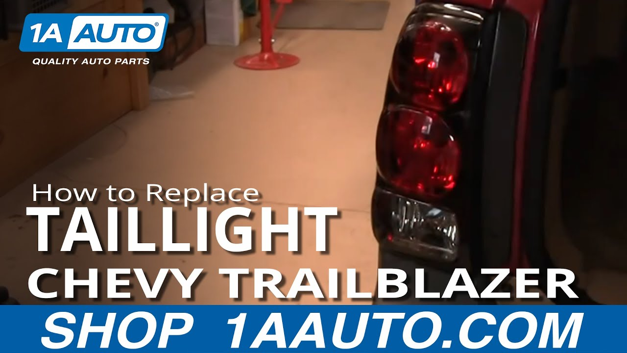How to Replace Tail Light 02-09 Chevy Trailblazer
