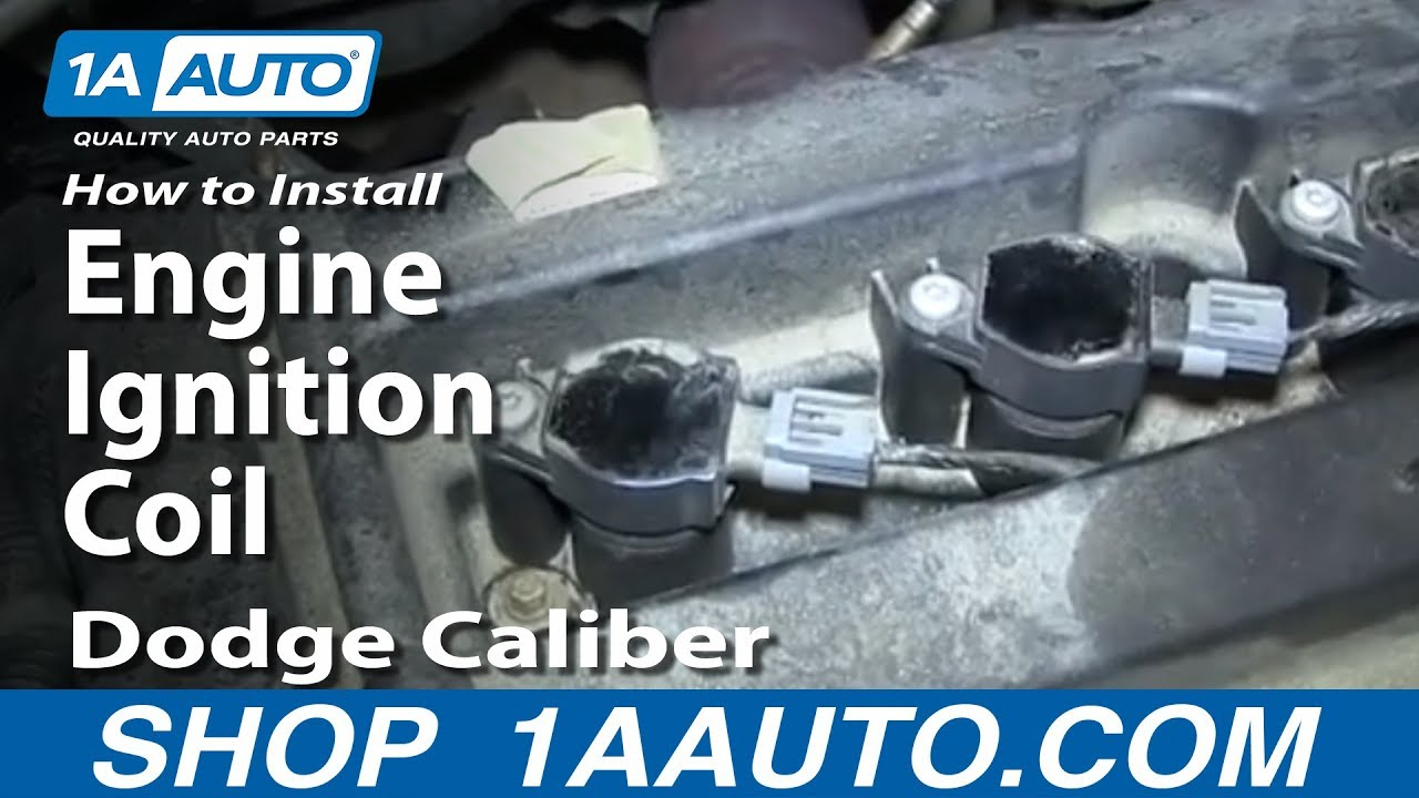 How to Replace Ignition Coils 07-12 Dodge Caliber