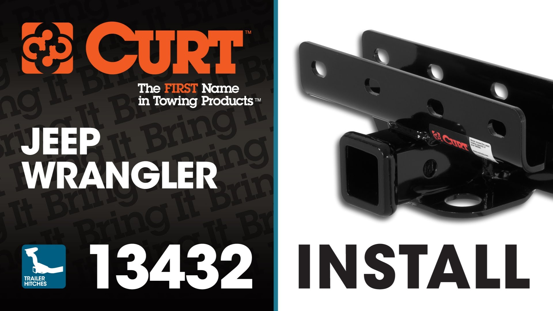 Trailer Hitch Install: CURT 13432 on Jeep Wrangler
