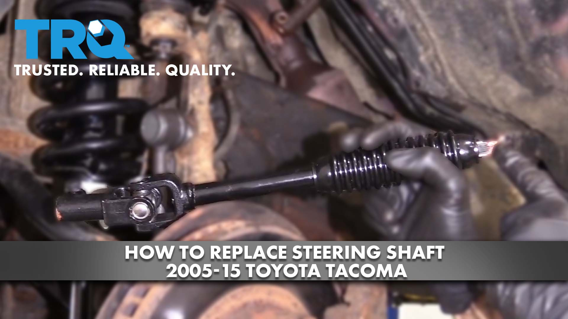 How to Replace Steering Shaft 05-15 Toyota Tacoma