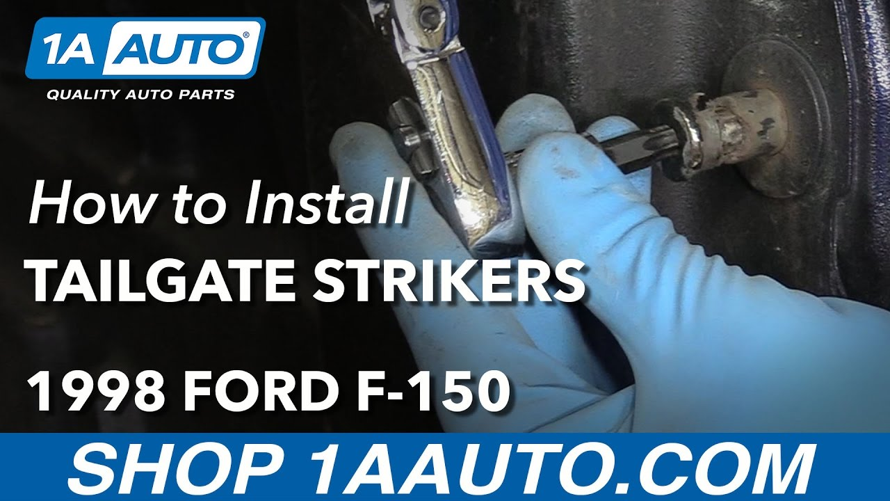 How to Replace Tailgate Striker Bolts 97-12 Ford F-150