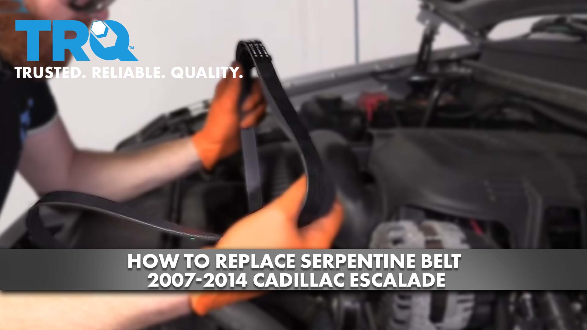 How To Replace Serpentine Belt 2007-14 Cadillac Escalade