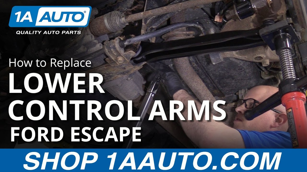 How to Replace Rear Lower Control Arms 09-12 Ford Escape