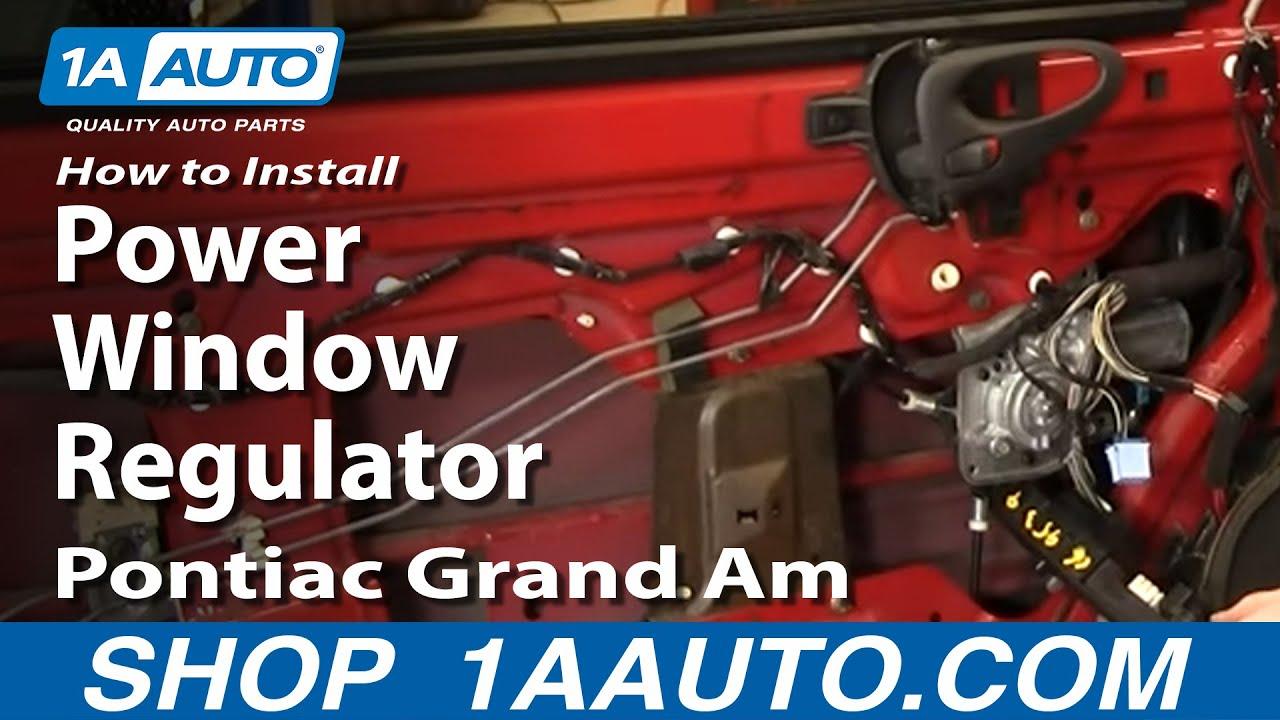 Window Regulator Guide Clip Pair Set for Pontiac Grand Am Olds Cutlass Alero