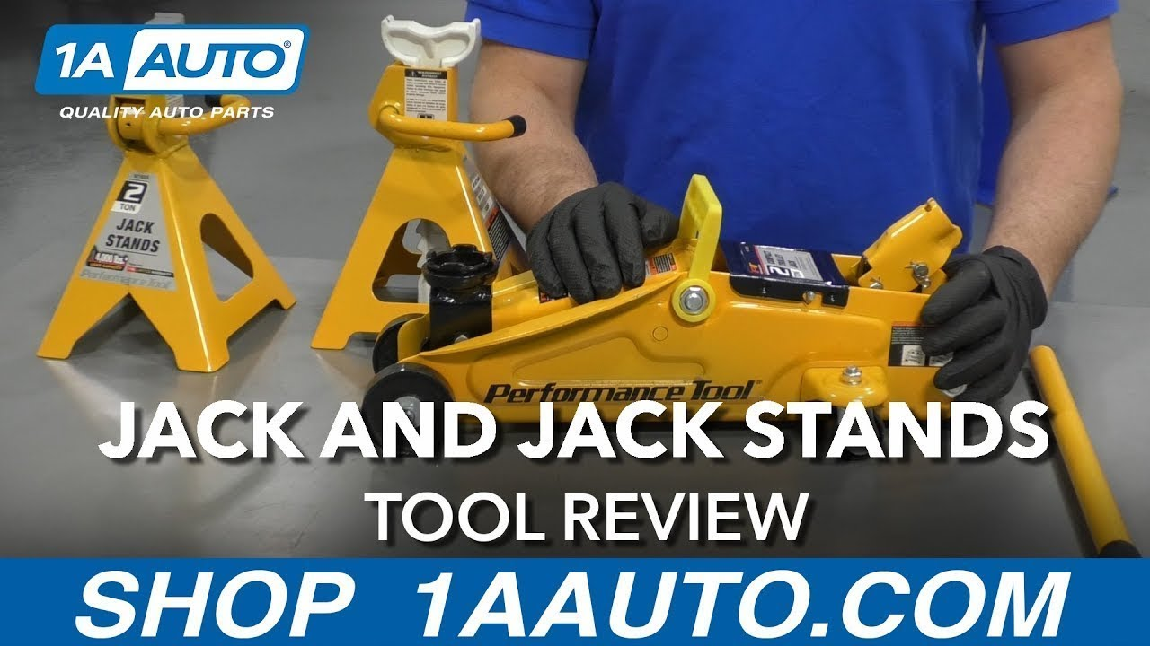 Jack and Jack Stands - Available on 1aauto com