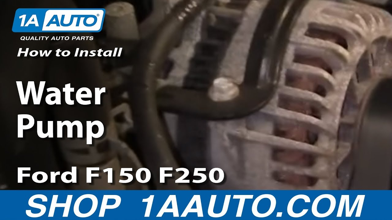 How To Replace Water Pump 97-04 5.4L V8 Ford F150/250