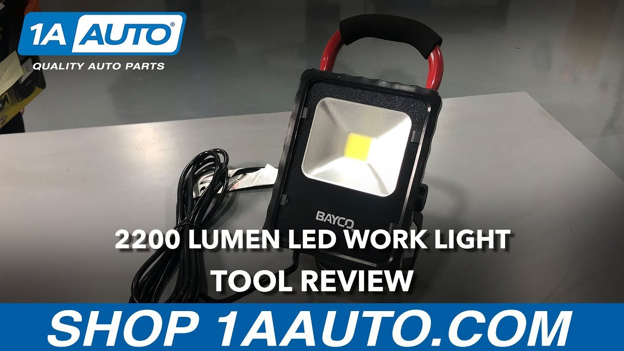 2200 Lumen LED Work Light