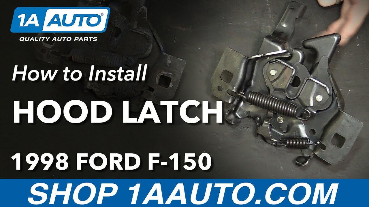 How to Replace Hood Latch 97-03 Ford F-150
