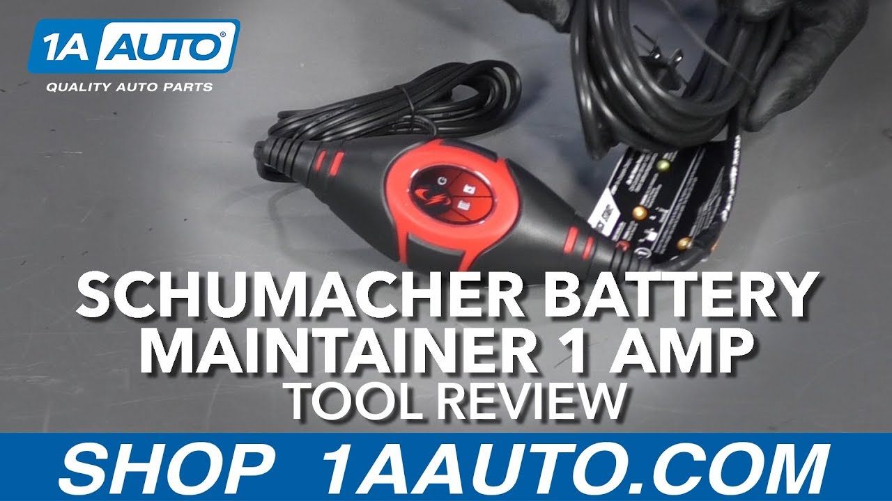 Schumacher Battery Maintainer 1 Amp - Available at 1AAuto.com