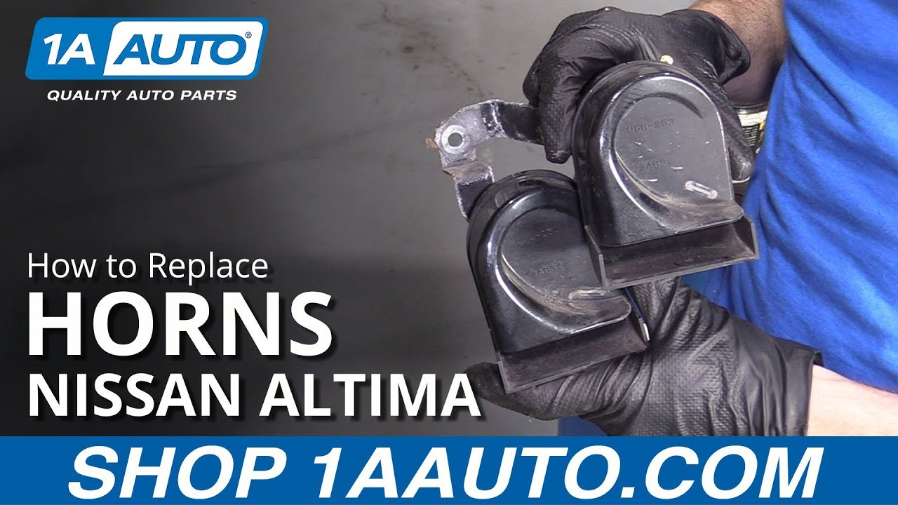 How to Remove Horns 06-12 Nissan Altima