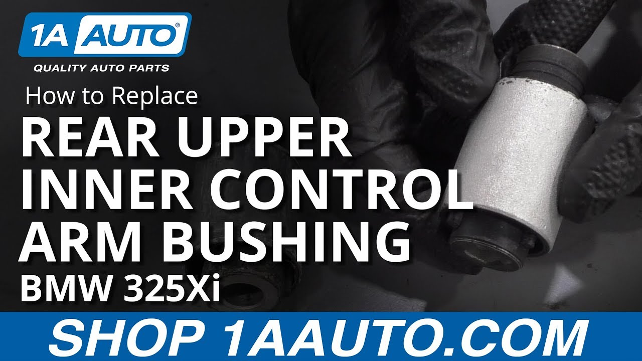 How to Replace Rear Upper Inner Control Arm Bushing 01-05 BMW 325Xi