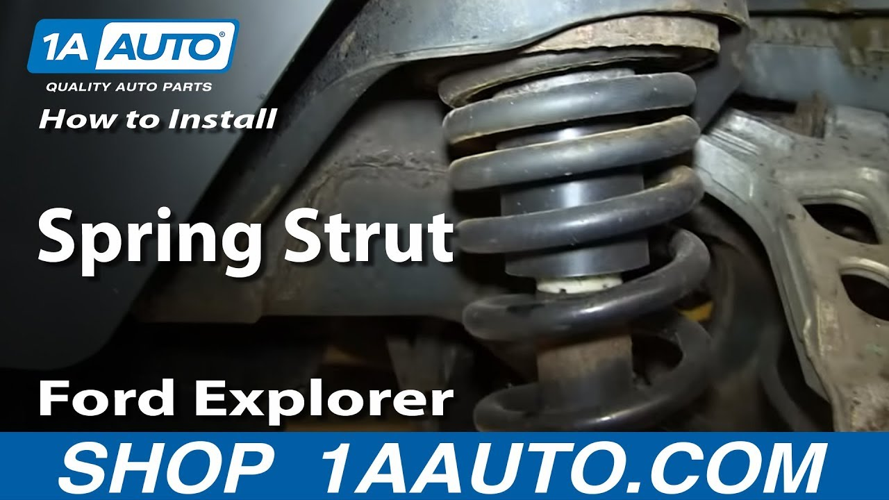 How to Replace Shock & Spring Assembly 02-05 Mercury Mountaineer