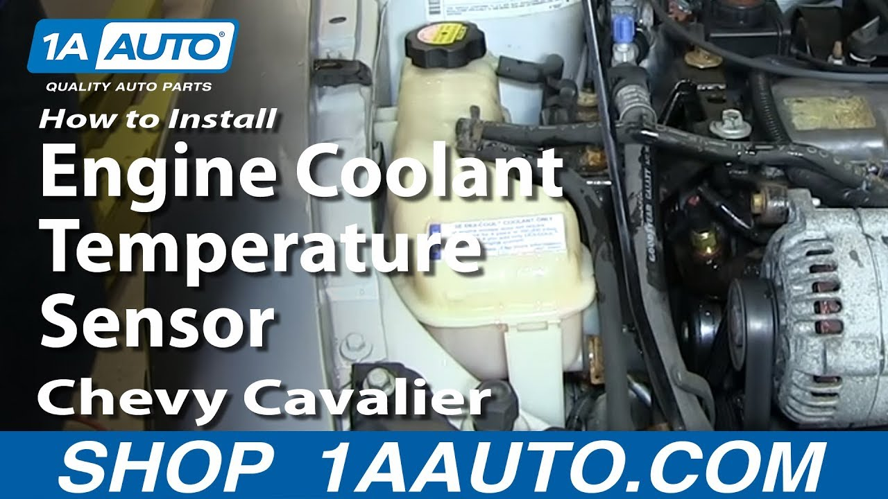 How to Replace Coolant Temperature Sensor 85-02 Chevy Cavalier