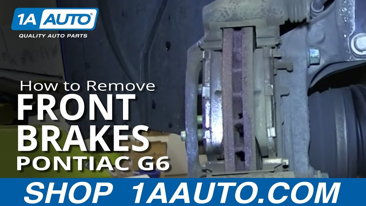 How to Replace Front Brakes 05-10 Pontiac G6