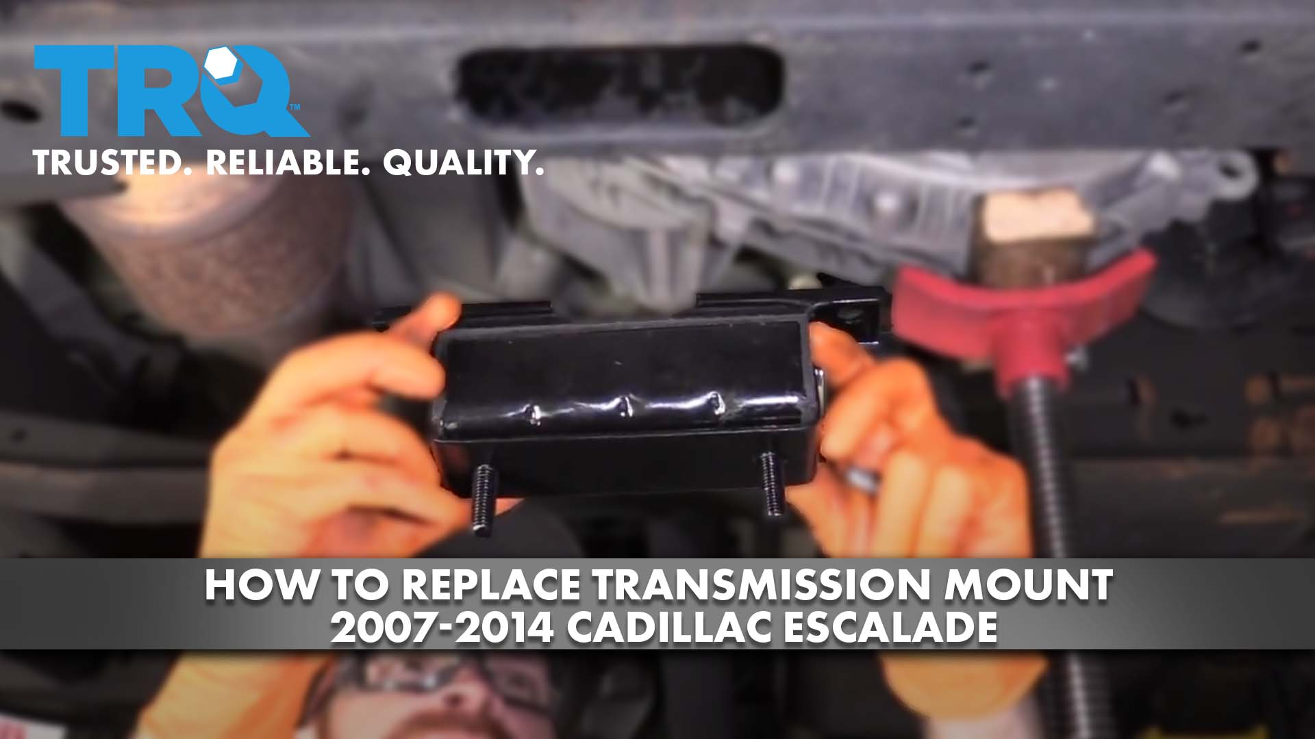 How To Replace Transmission Mount 2007-14 Cadillac Escalade
