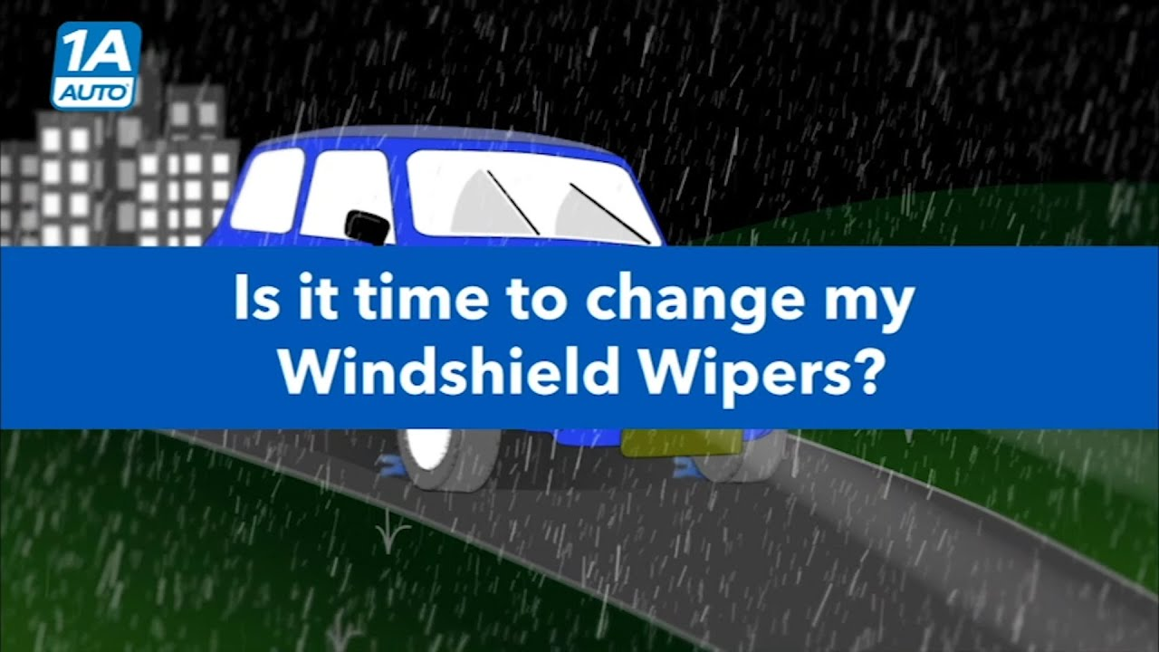 When Should I Change My Wiper Blades?