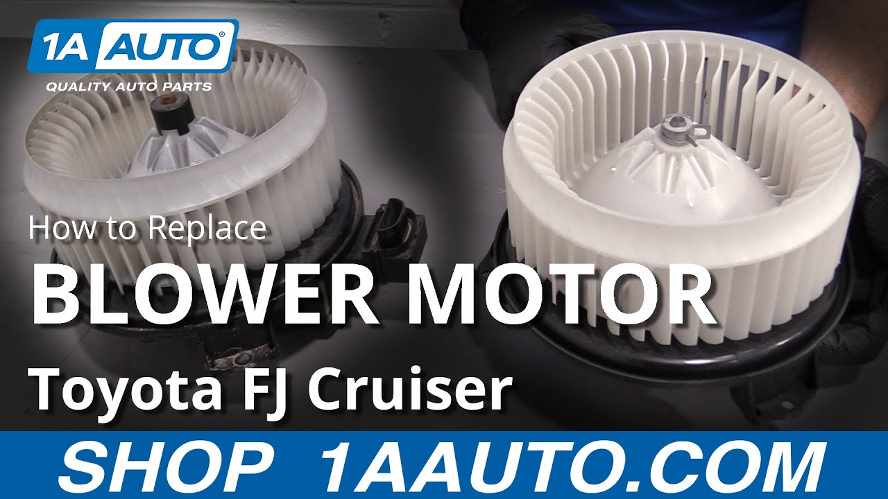 How to Replace Blower Motor 07-14 Toyota FJ Cruiser