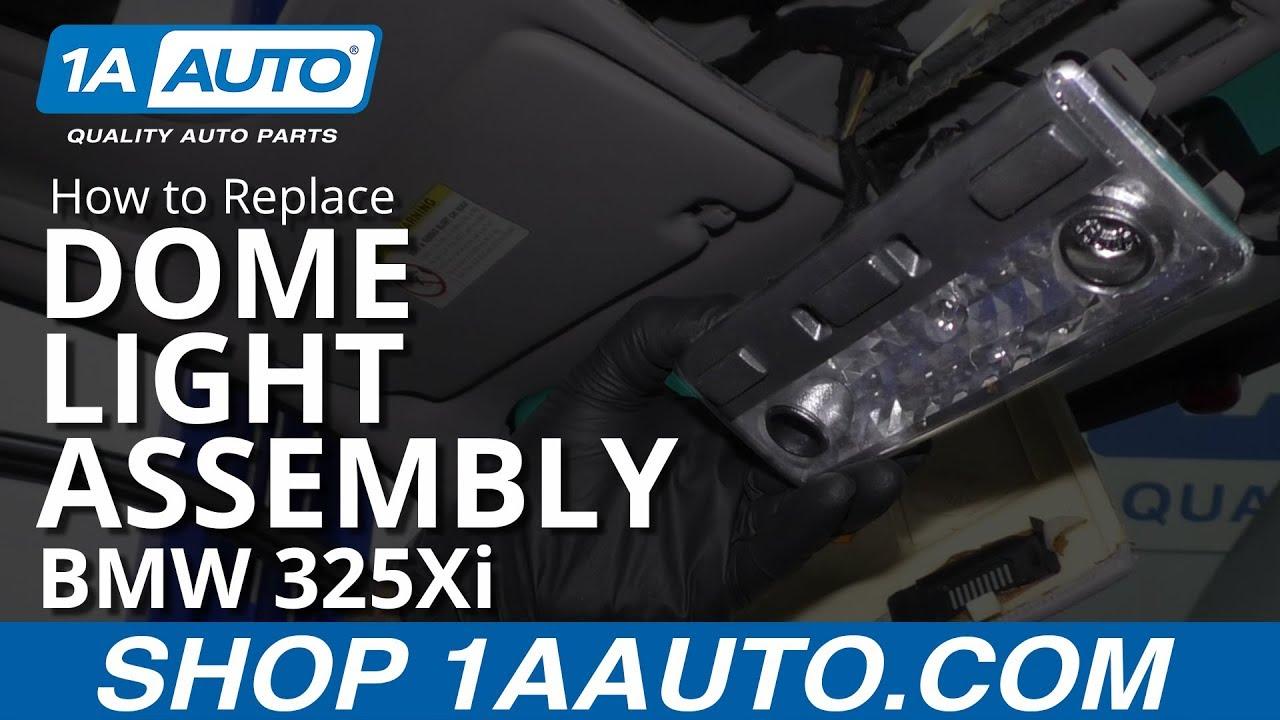 How to Replace Dome Light Assembly 97-06 BMW 325Xi