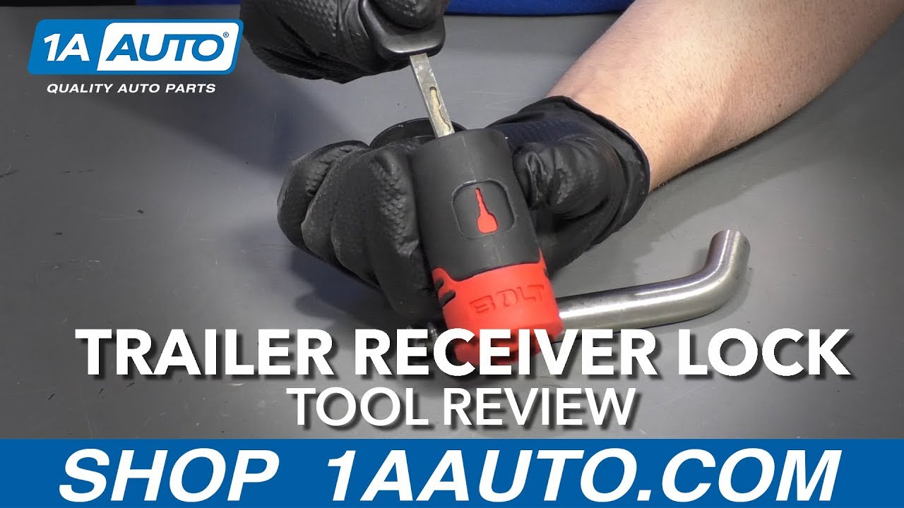 Trailer Receiver Lock - Available at 1AAuto.com