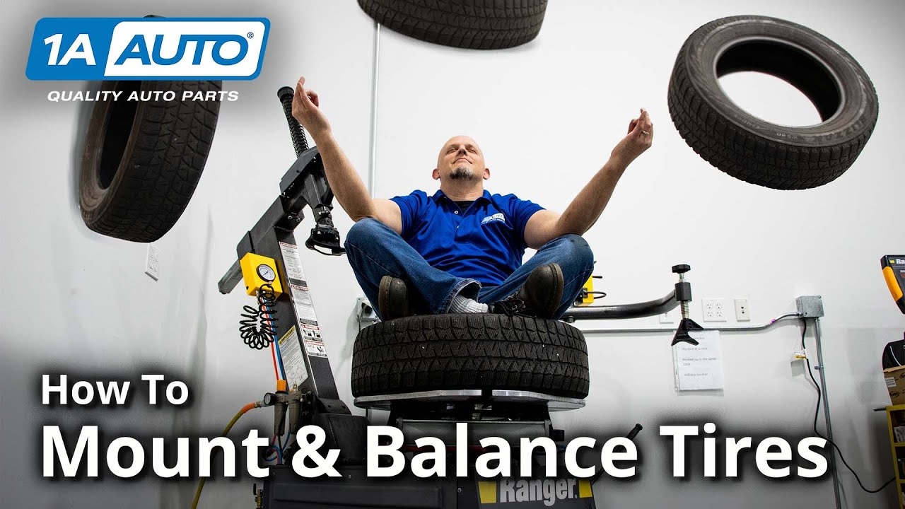 Ever Wondered How Tires Are Mounted & Balanced for Your Car, Truck, or SUV?