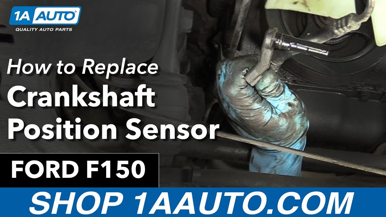 How To Replace Crankshaft Position Sensor 97-99 Ford F150