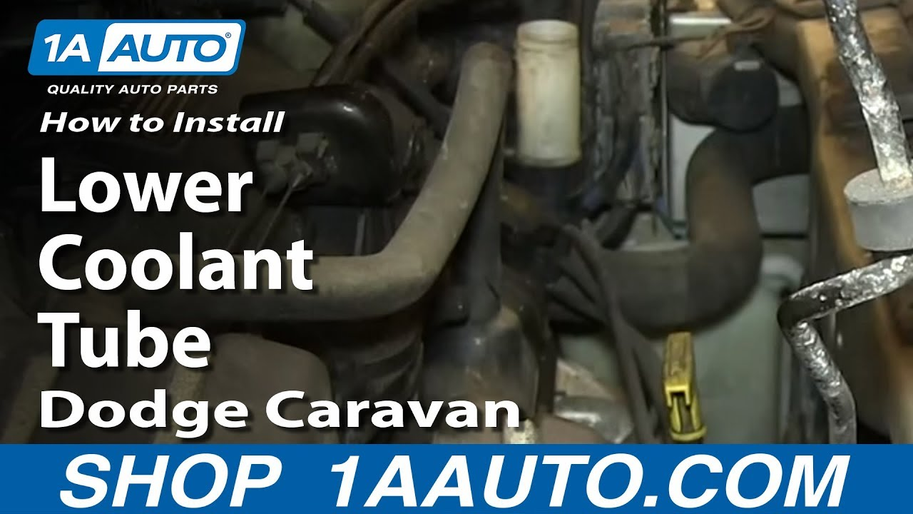 How To Replace Coolant Inlet Tube 01 10 Dodge Grand