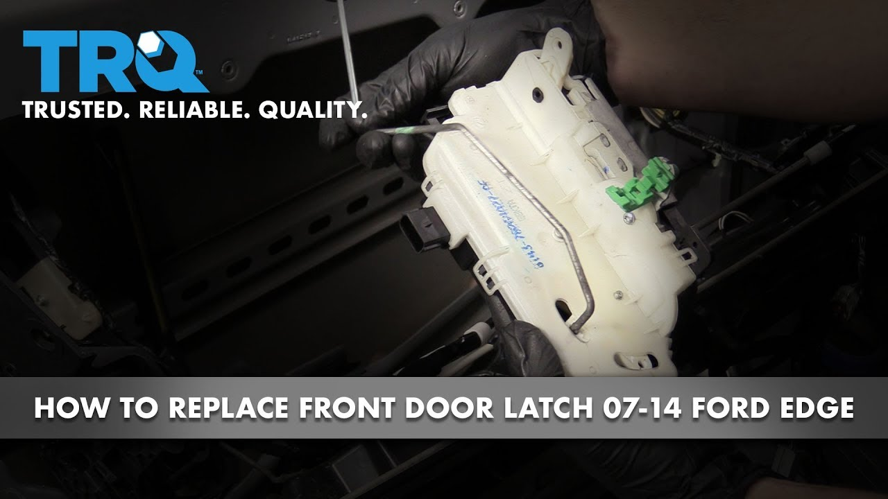 How to Replace Front Door Latch 2007-14 Ford Edge