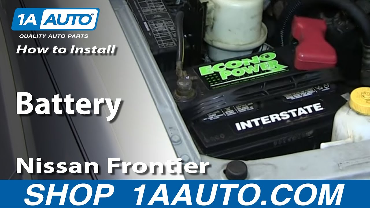 How to Replace Battery 01-04 Nissan Frontier
